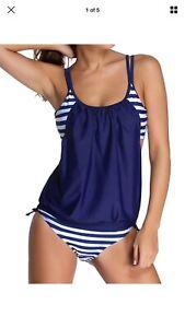 Ladies tankini/bikini Set, Size Small, New Without Tags