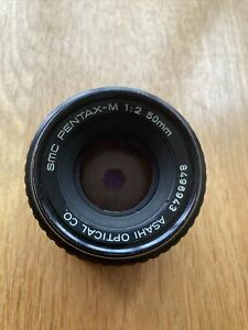 Pentax PK SLR 35mm Film 50mm F2 lens