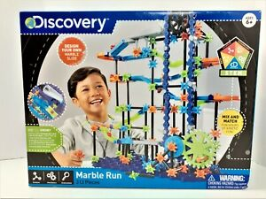 Discovery Marble Run Maze STEM Kinetic Mix and Match Building Toy 313 pcs