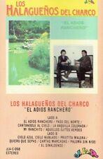 Los Halaguenos Del Charco - El Adios Ranchero Cassette Tape