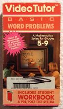 Mathematics - Basic Word Problems (Prev. Viewed VHS, 1989) Educational