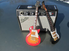 Fender Mini Twin 9V or AC Portable Practice Amp & Unbraned Electric Mini gibson