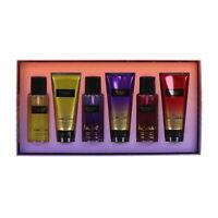 Victoria's Secret Gift Set 6 Piece Fragrance Mist Lotion Spray Fantasies New Vs