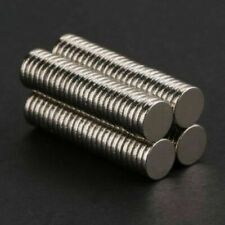 100Pcs 5x1mm Neodymium Disc Strong Rare Earth N52 Small Fridge Cylinder Magnets
