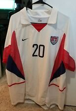BRIAN MCBRIDE USA Soccer Jersey 2002 World Cup Player issued Dual layer. Size XL