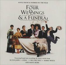 Four Weddings & A Funeral Soundtrack CD NEW Squeeze Swing Out Sister Barry White