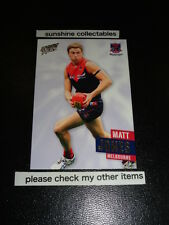 2013 AFL SELECT PRIME CARD NO.128 MATT JONES MELBOURNE