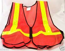 LIGHT UP LED REFLECTIVE SPORT SAFETY VEST NIGHT RUN JOG