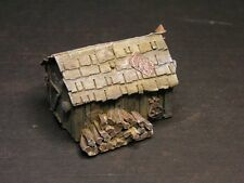 Old Timber Miners Stockmans Hut Shack 43x43x26mm HO 1/87 Scale cast Resin RS10