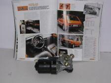"FIAT 127 SPORT DEL '78  - MOTORINO TERGI ORIGINALE ""MARELLI"""