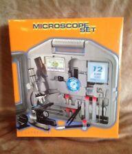 Claybrooke Microscope Set (100x - 900x) + Storage Case. New In Box