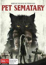 Pet Sematary (DVD, 2019) Stephen King - Jason Clarke - New & Sealed