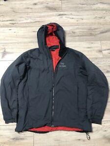 Men's Arcteryx Atom Grey Jacket Hoody Size XL