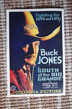 South of the Rio Grande Lobby Card Movie Poster Western Buck Jones