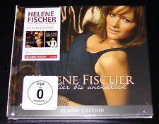 HELENE FISCHER VON HIER BIS UNENDLICH LIMITIERTE PLATIN EDITION CD + DVD NEU