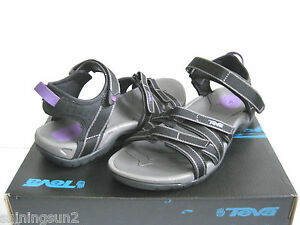 TEVA TIRRA WOMEN SPORT SANDALS BLACK US 11 /UK 9 /EU 42