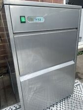 More details for commercial 50kg ice cube maker machine pub bar restaurant catering chiller cold