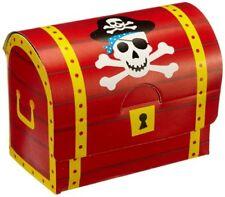8 X Piraten Schatzkiste Piratenparty - Kindergeburtstag
