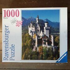 Ravensburger 1000 Piece Jigsaw Puzzle Sunny Neuschwanstein Castle #81942