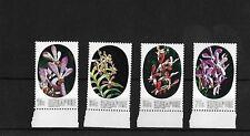 SINGAPORE 1976 ORCHIDS, MNH, SG272/5, CAT £16.25