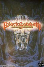"""BLACK SABBATH """"DEHUMANIZER"""" U.S. PROMO POSTER -Ronnie Dio, Butler, Iommi, Appice"""