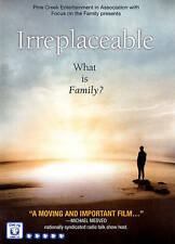 Irreplaceable; What is Family? (Focus on the Family DVD) FREE SHIPPING
