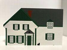 1996 Cats Meow Green Gables House/Series Shelf Sitter Folk Art