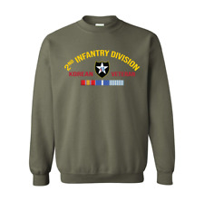 2nd Infantry Division Korea Veteran Sweatshirt Officially Licensed