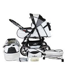 Bergsteiger Rio Kombi Kinderwagen Set Federung Baby Buggy Sportwagen B-Ware
