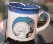 Coffee Cup Mug Beautiful Seashell Photo Underwater Ocean B2