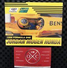 Honda Mugen Jordan Telephone Card Set Rare OEM JDM Formula 1 F1 1998 99 2000