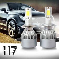 Nouveau 2pcs C6 LED Phare de voiture Kit COB H7 36W 7600LM Ampoules blanches GB1