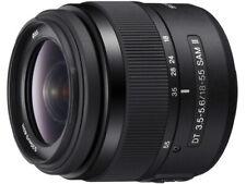 SONY DT 18-55mm F3.5-5.6 SAM II Lens SAL18552 Japan Ver. New  / FREE-SHIPPING