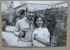 ANCIENNE PHOTOGRAPHIE - AGNES SPAAK & PIERRO SCIUME 1967 - UNIVERSAL PHOTO *