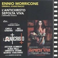 Ennio Morricone: Sepolta Viva/Anticristo, L' (New CD)