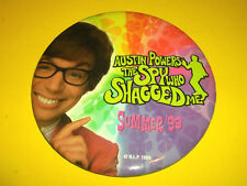 AUSTIN POWERS THE SPY WHO SHAGGED ME MOVIE FILM  PROMO PIN BACK BUTTON