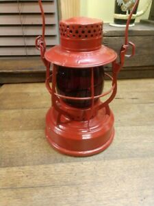 Vintage DIETZ 8-Day  N.Y U.S.A. Consolidated Edison system Lantern