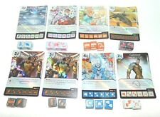 Marvel Dice Masters X-Men First Class Lot of 8 Holographic Rare Common Uncommon!