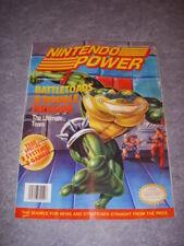 NINTENDO POWER Magazine, #49, JUNE, 1993, JURASSIC PARK POSTER, BATTLETOADS!