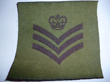 BRITISH ARMY OLD PATTERN RANK INSIGNIA STAFF / COLOUR SERGEANT.