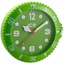 Genuine Ice Analogue Wall Clock Watch With Silent Sweep Seconds Hand Luminous Green