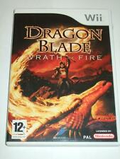 """Dragon Blade Wrath Of Fire  for Nintendo Wii  """"FREE UK  P&P"""""""