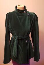 Manteau veste velours vert mousse sur mesure 12 14 Amazing Cut & Style New Coast