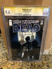 The Walking Dead #13 CGC 9.6 SIGNED BY CHARLIE ADLARD! 13