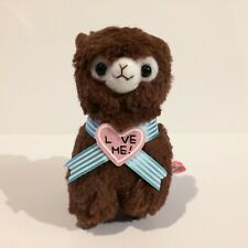 AMUSE Valentine's Day Sweet Arpakasso Chocolate Boy (16cm) Alpacasso Plush Japan