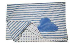 Nojo Little Love Cloud  Double-Sided Soft  Baby  Blanket  - Stripes - polka dots