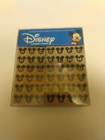 New...Disney Mickey Mouse 42 Alphabet Wooden Rubber Stamps