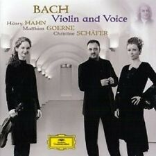 "HILARY HAHN ""BACH VIOLIN AND VOICE"" CD NEU"