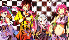 220 No Game No Life PLAYMAT CUSTOM PLAY MAT ANIME PLAYMAT FREE SHIPPING