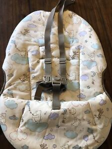 Disney Graco Winnie the Pooh Baby Seat Cover Replacement Part Vintage Straps
